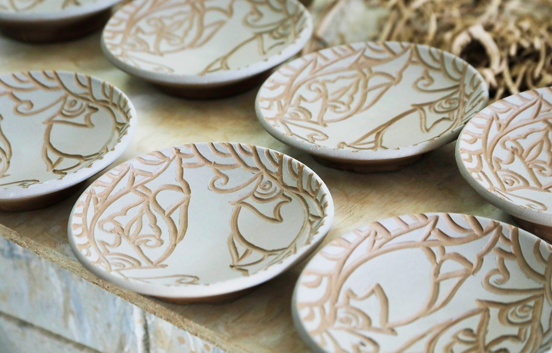 清正陶器壺屋窯の作品窯出し