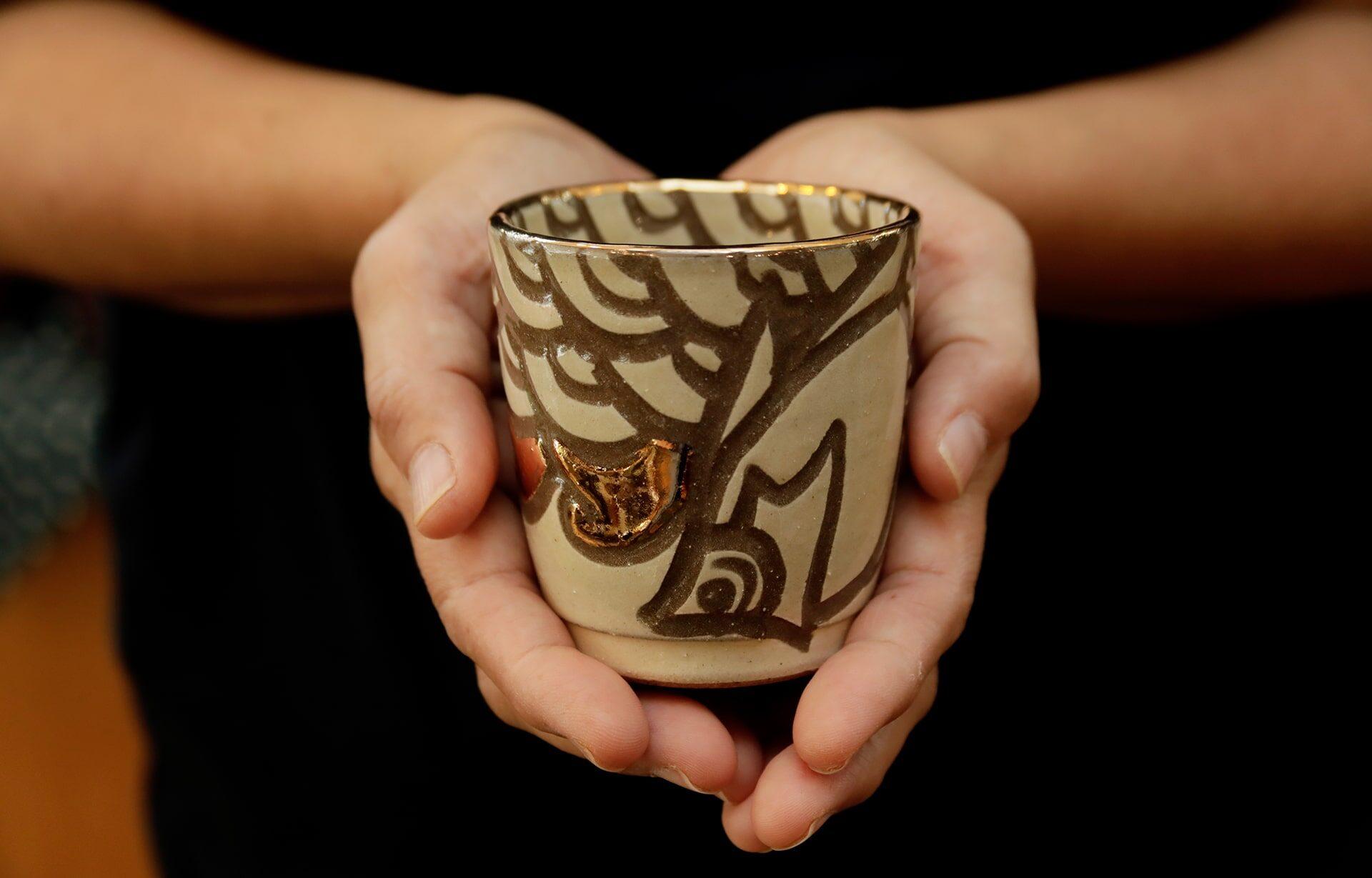 清正陶器壺屋窯の作品